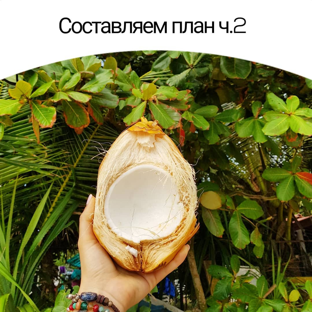 Составляем план ч.2